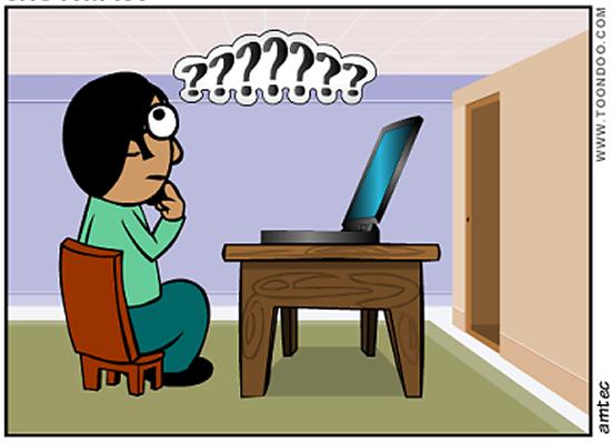 Um site confuso pode fazer você perder um cliente em potencial!