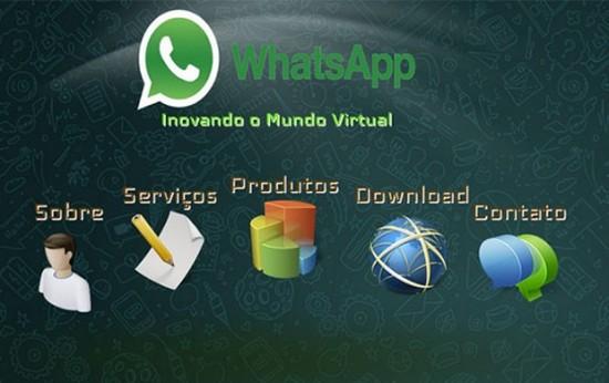 Versão falsa do WhatsApp para computadores (Foto: Reprodução/Kaspersky Lab)